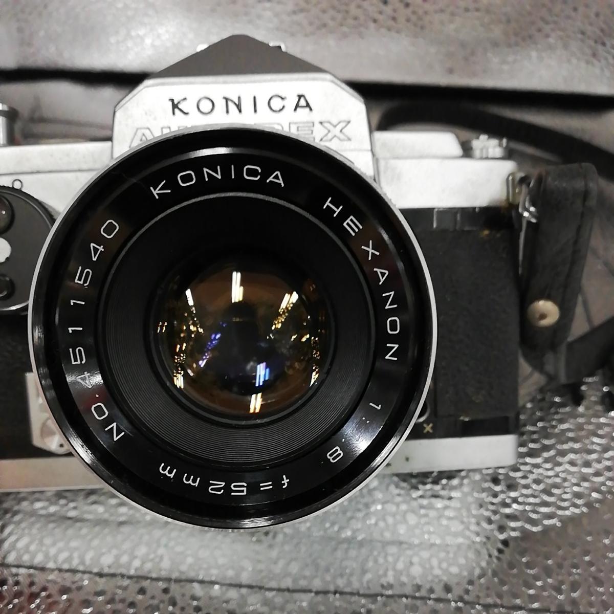 【中古品】KONICA コニカ オートレックス 一眼レフカメラ _画像2
