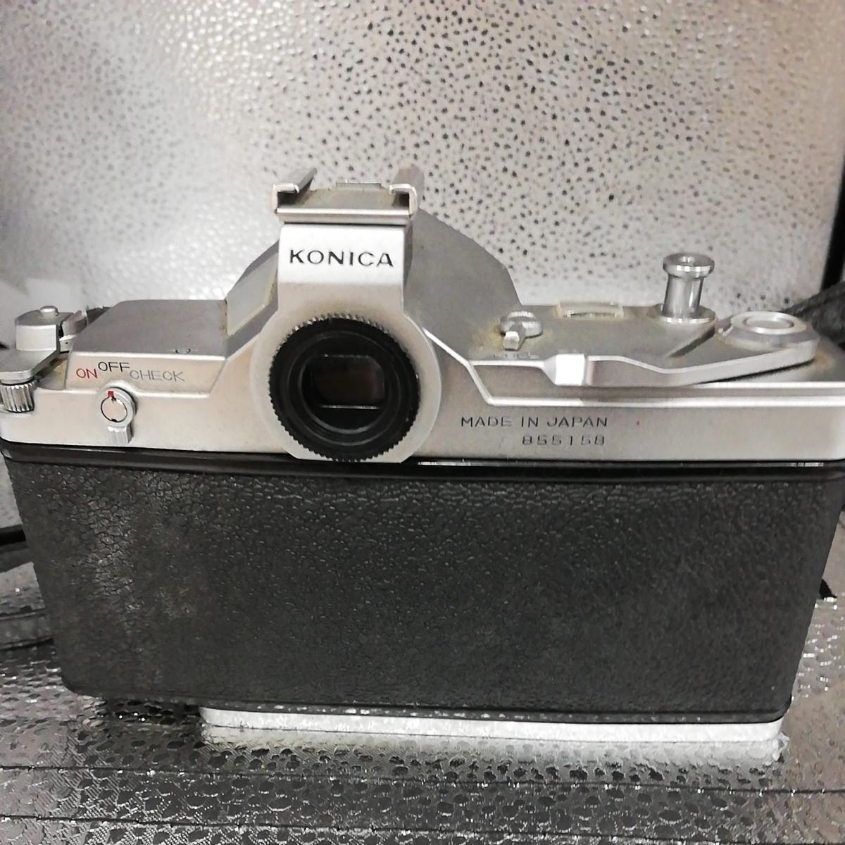 【中古品】KONICA コニカ オートレックス 一眼レフカメラ _画像3
