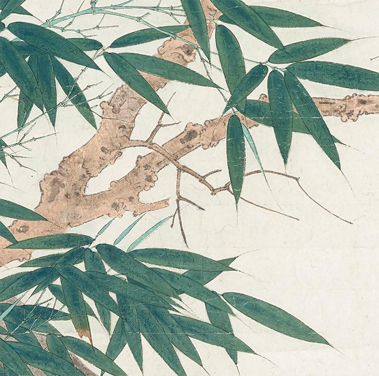 張大千【鳥】中国書画家 美術品 中国美術 掛軸 掛け軸 希少品 サイズ: 60cm x 132cm_画像6