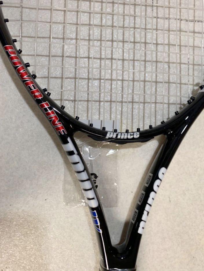 1円 未使用 prince プリンス POWER LINE IV 硬式テニスラケット 美品 売り切り_画像8