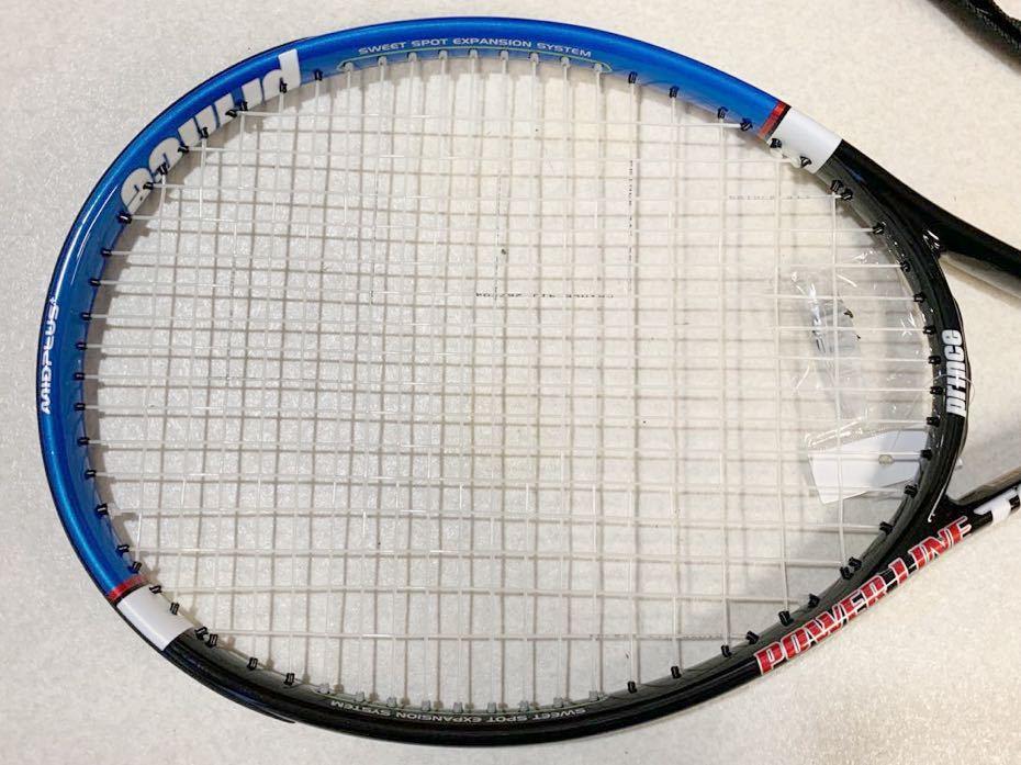 1円 未使用 prince プリンス POWER LINE IV 硬式テニスラケット 美品 売り切り_画像3