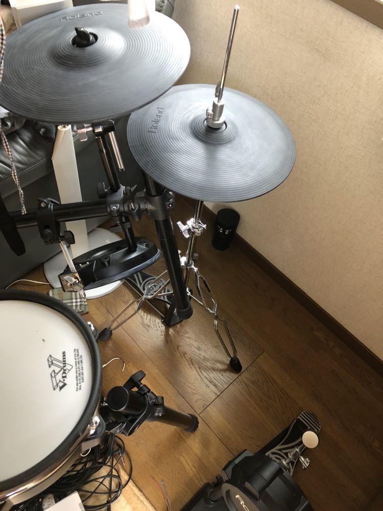 Roland TD-25KV 電子ドラム V-Drums ペダル スティック スローン付 中古_画像6