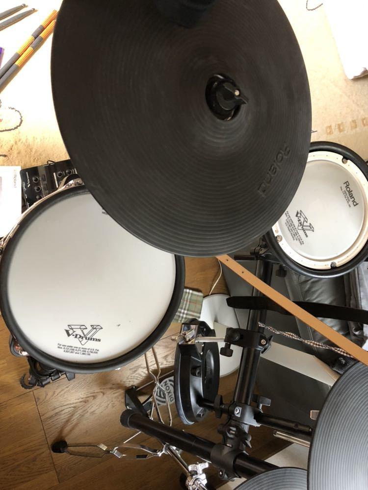 Roland TD-25KV 電子ドラム V-Drums ペダル スティック スローン付 中古_画像4