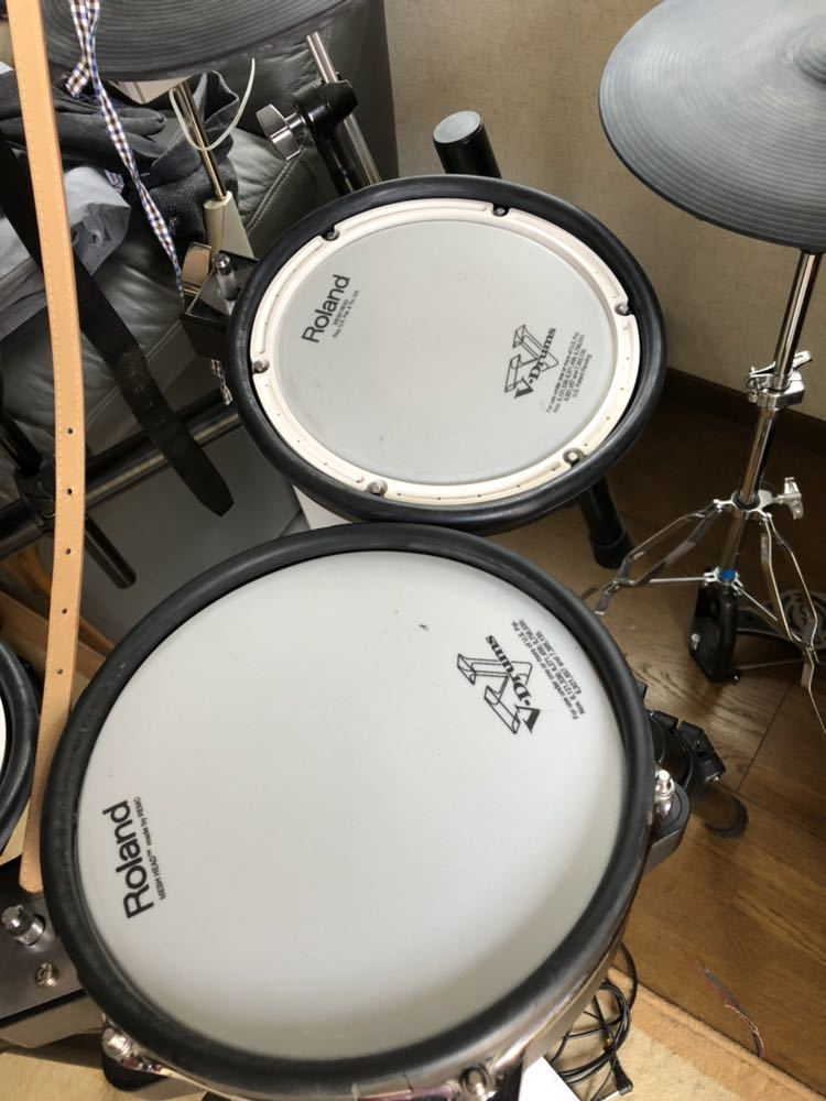 Roland TD-25KV 電子ドラム V-Drums ペダル スティック スローン付 中古_画像3
