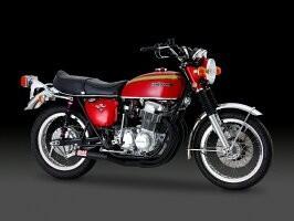 CB750FOUR (69-77) (車両型式 CB750) (エンジン型式 CB750E) ヨシムラ レーシング手曲ストレートサイクロン マフラー (150-471-0840)_画像1