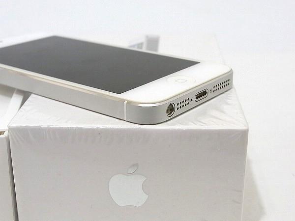 1円 美品 動作良好 3日間保証付Apple iPhone5 16GB シルバー ME040J/A au 判定○_画像6
