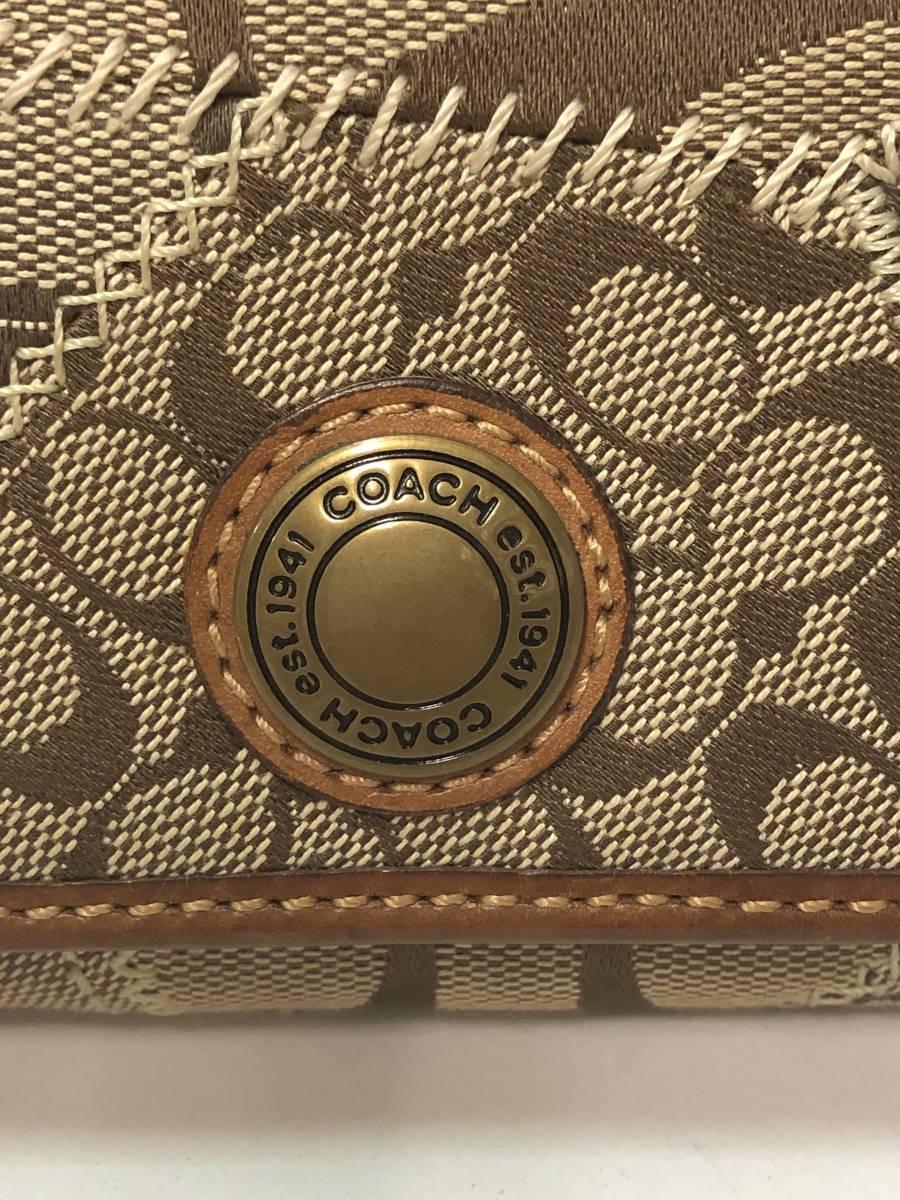 77VB51713 コーチ 財布 COACH 三つ折り レディース_画像3