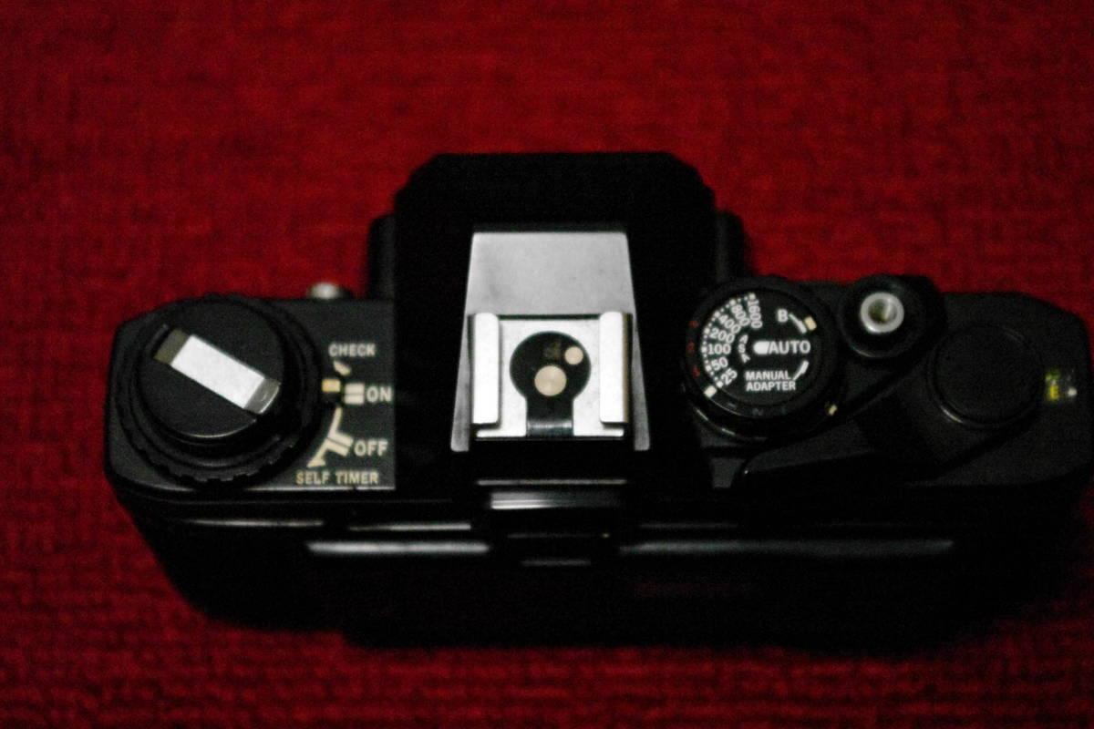 OLYMPUS オリンパス OM10 ブラック MF一眼レフ フィルムカメラ ■ik1_画像5