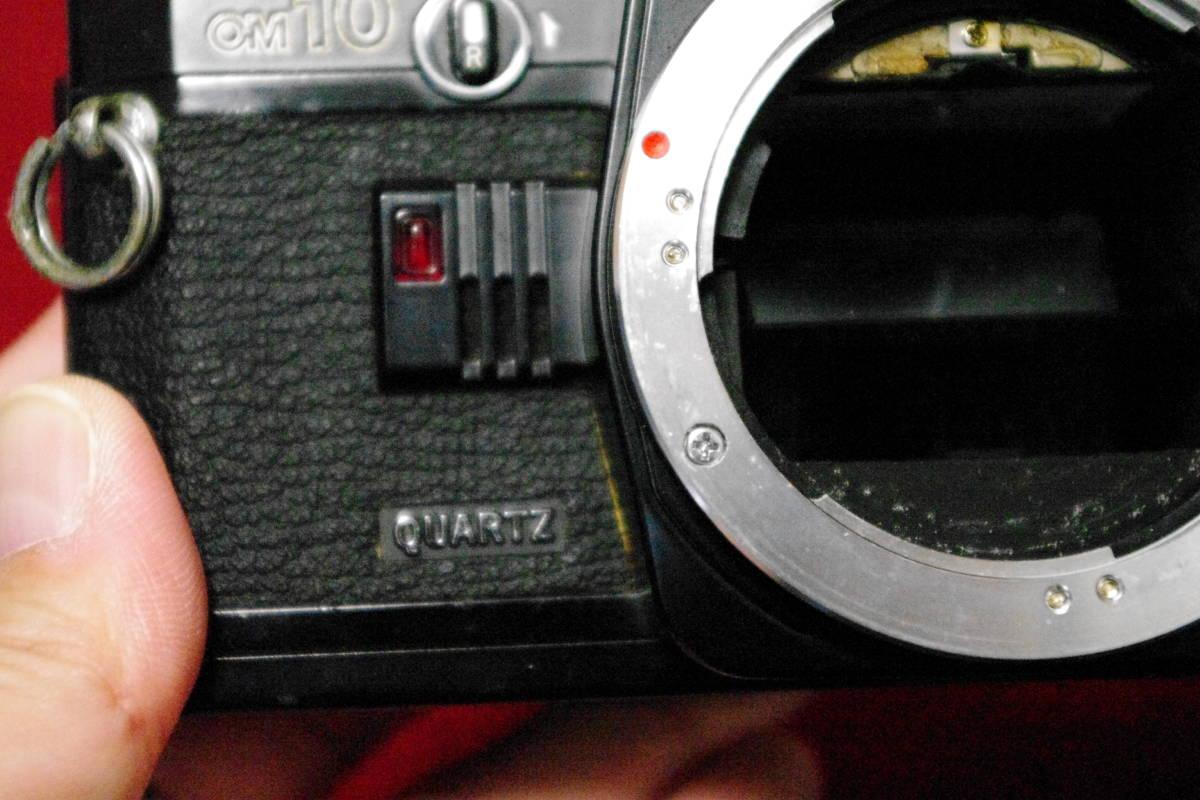 OLYMPUS オリンパス OM10 ブラック MF一眼レフ フィルムカメラ ■ik1_画像4