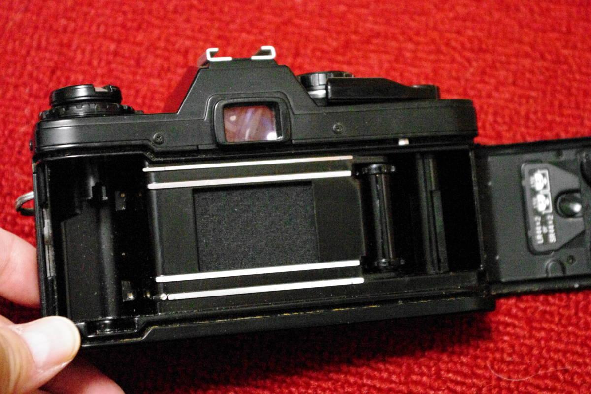 OLYMPUS オリンパス OM10 ブラック MF一眼レフ フィルムカメラ ■ik1_画像6