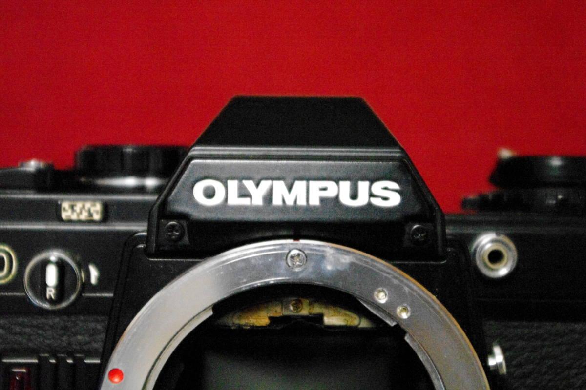 OLYMPUS オリンパス OM10 ブラック MF一眼レフ フィルムカメラ ■ik1_画像2