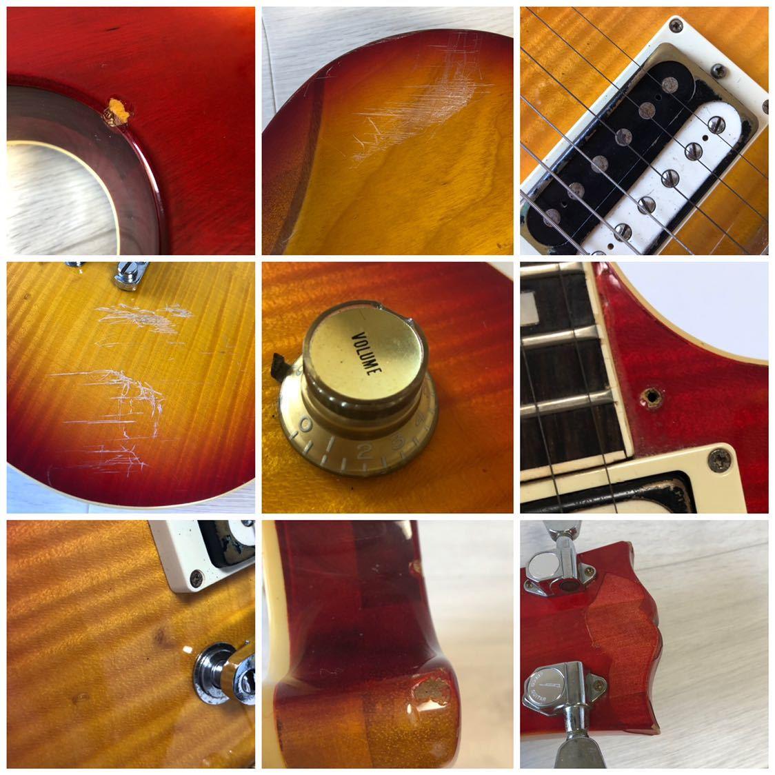 GRECO グレコ 中古 エレキギター 現状品 型番不明 ジャンク_画像10