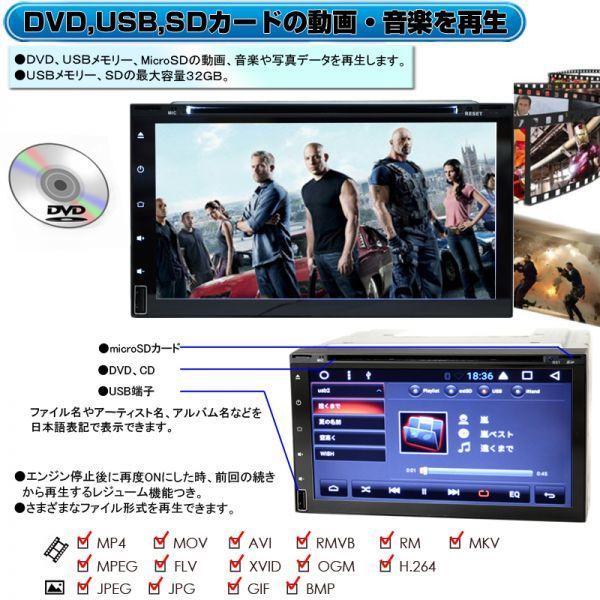 CD,DVD,USB,SD,ブルートゥース内蔵