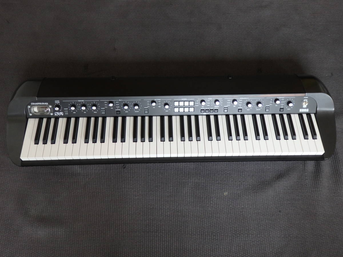 ■KORG コルグ ステージ・ビンテージ・ピアノ SV1-73-BK ブラック(専用キャリングバッグ付き)■_画像2
