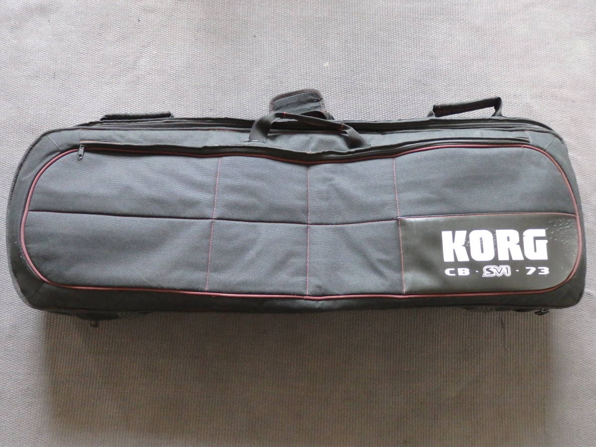 ■KORG コルグ ステージ・ビンテージ・ピアノ SV1-73-BK ブラック(専用キャリングバッグ付き)■_画像5