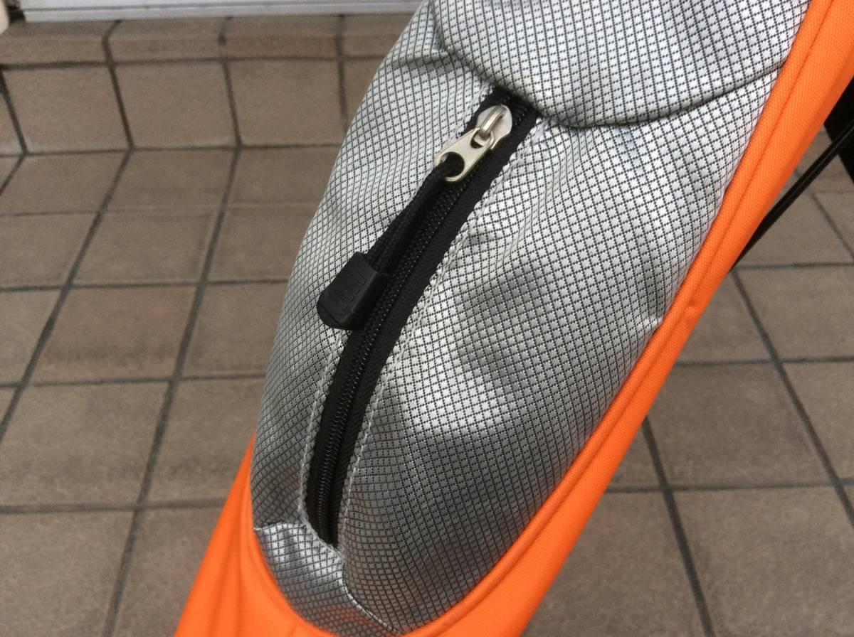 Glove Holder (ゴルフクラブ~自立スタンド式)オレンジ!!!中古品_画像9