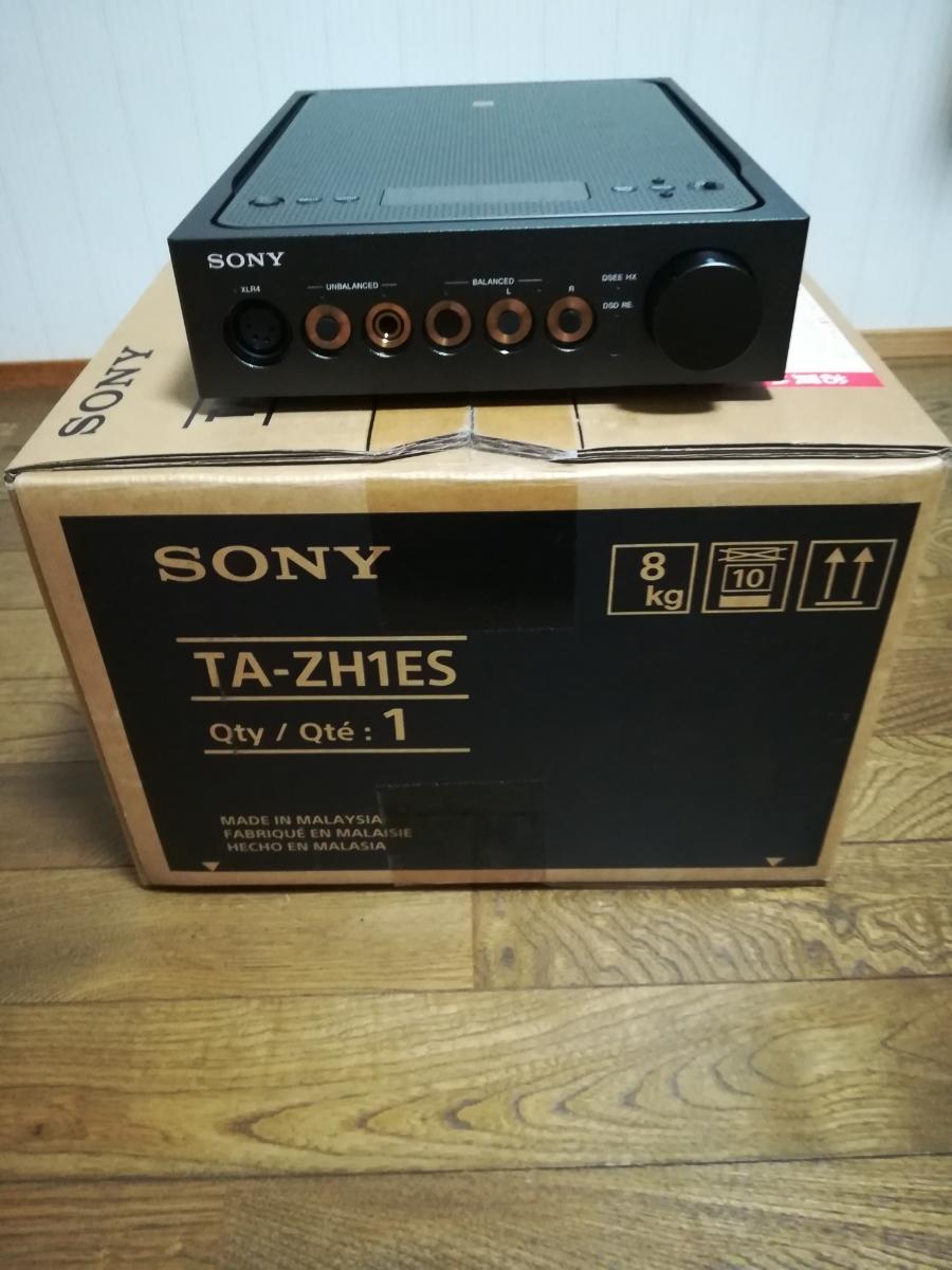 TA-ZH1ES SONY ヘッドフォンアンプ 2018年製 付属品完備_画像3