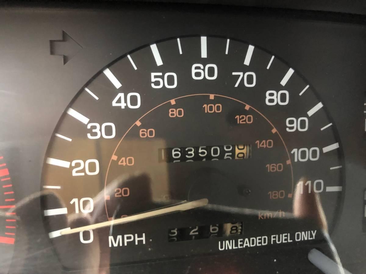 左ハン SR5 4WD NOX適合 車検アリ! サンルーフ リフトアップ 検索 ハイラックス ダットサン ピックアップ 米国トヨタ タコマ t100_画像10