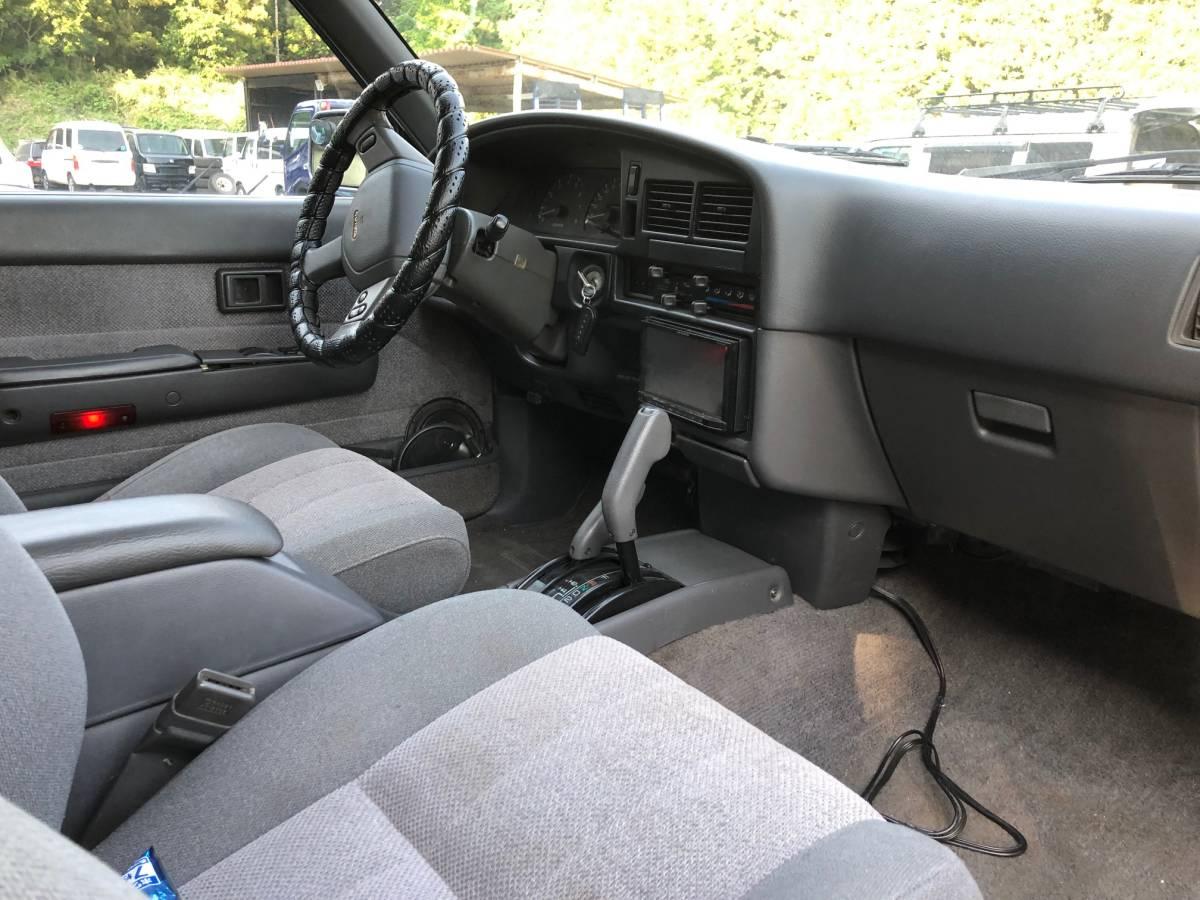 左ハン SR5 4WD NOX適合 車検アリ! サンルーフ リフトアップ 検索 ハイラックス ダットサン ピックアップ 米国トヨタ タコマ t100_画像4
