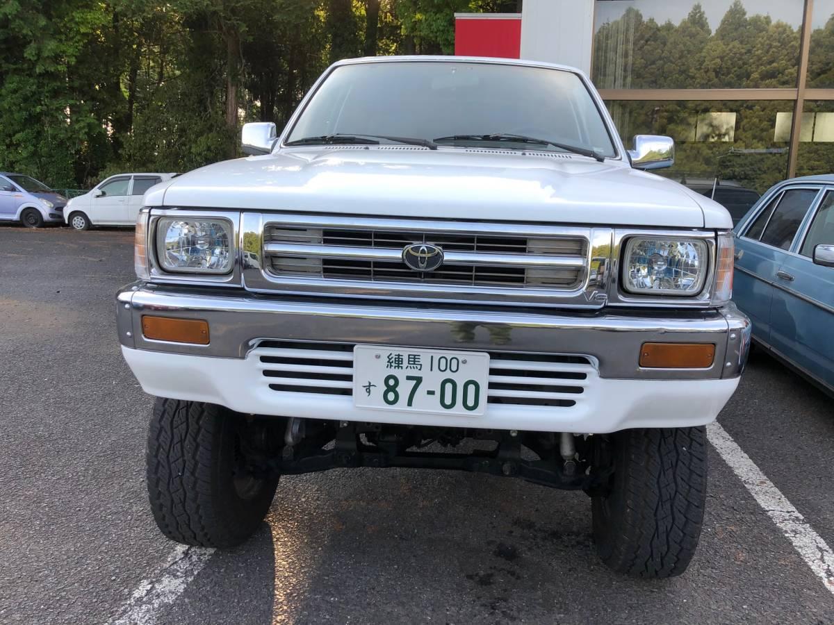左ハン SR5 4WD NOX適合 車検アリ! サンルーフ リフトアップ 検索 ハイラックス ダットサン ピックアップ 米国トヨタ タコマ t100_画像8