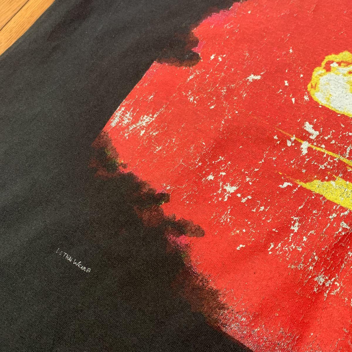 1円 cromags クロマグス バンド Tシャツ バンT 希少 レア ヘインズ 古着 hard core ニューヨーク ハードコア クロスオーバー メタル_画像3