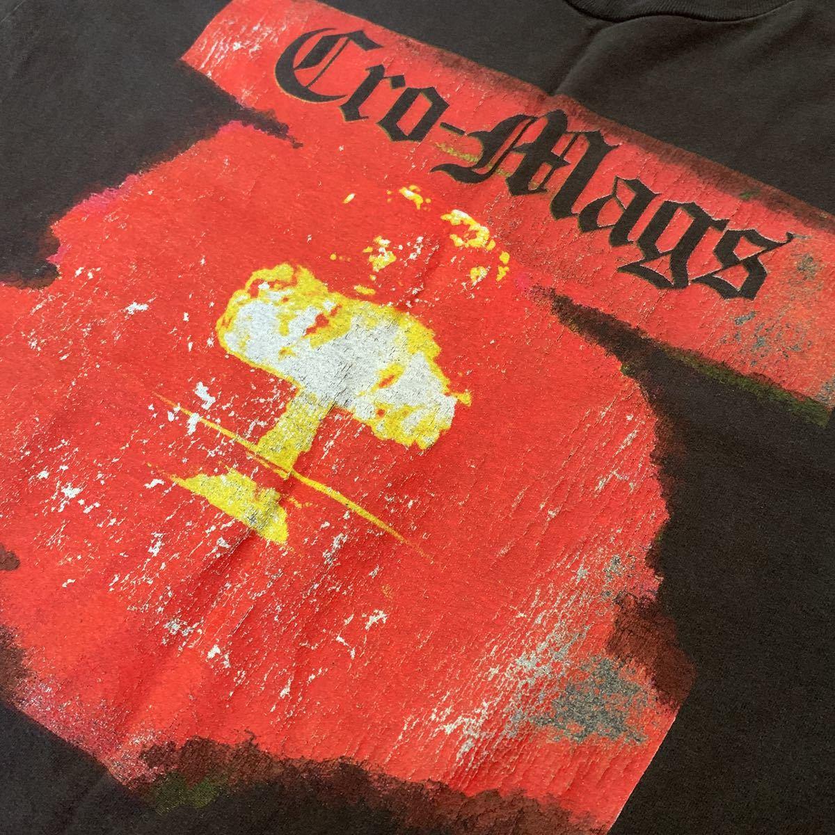 1円 cromags クロマグス バンド Tシャツ バンT 希少 レア ヘインズ 古着 hard core ニューヨーク ハードコア クロスオーバー メタル_画像2