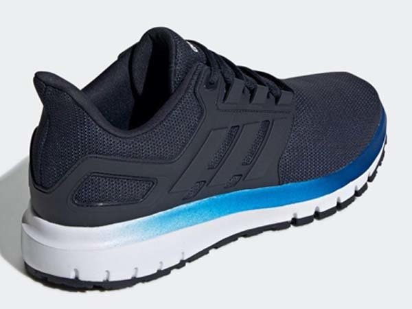 100円~ adidas エナジークラウド2 ネイビー 27.0cm 通気性クッション軽量サポート_画像4