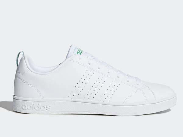 100円~ adidas バルクリーン2 [VALCLEAN2] 白/白/緑 26.0cm_画像2