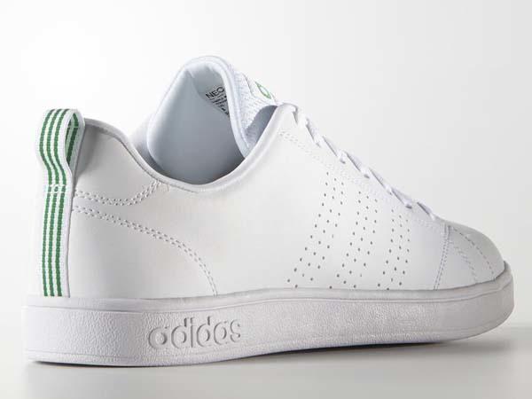 100円~ adidas バルクリーン2 [VALCLEAN2] 白/白/緑 26.0cm_画像4