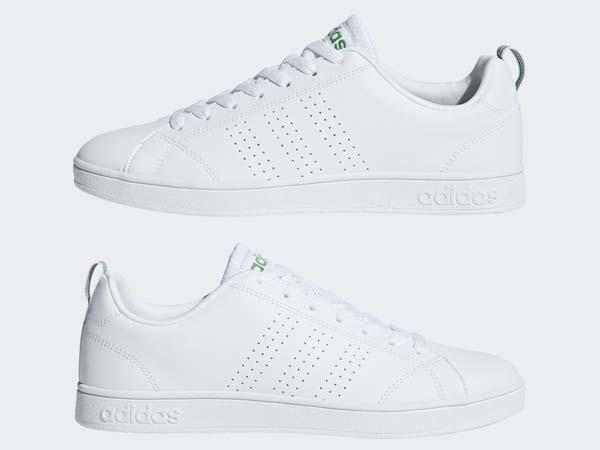 100円~ adidas バルクリーン2 [VALCLEAN2] 白/白/緑 26.0cm_画像3