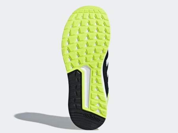 100円~ adidas QUESTAR RIDE カーボン/イエロー 26.5cm 通気性柔軟性軽量サポート_画像6