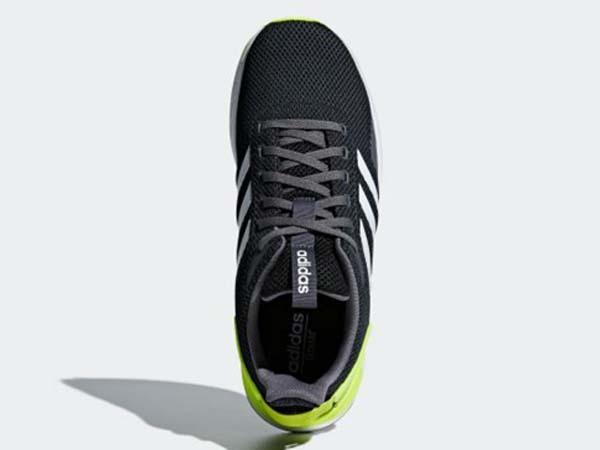 100円~ adidas QUESTAR RIDE カーボン/イエロー 26.5cm 通気性柔軟性軽量サポート_画像5