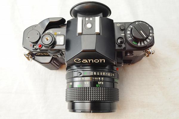 ★超美品★Canon キャノン A-1 + New FD 50mm F1.4 レンズ・ストロボセット スピードライト/#1493/0512_画像5