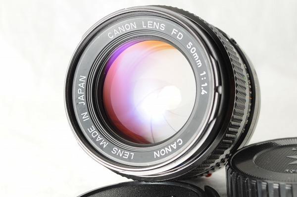 ★超美品★Canon キャノン A-1 + New FD 50mm F1.4 レンズ・ストロボセット スピードライト/#1493/0512_画像7