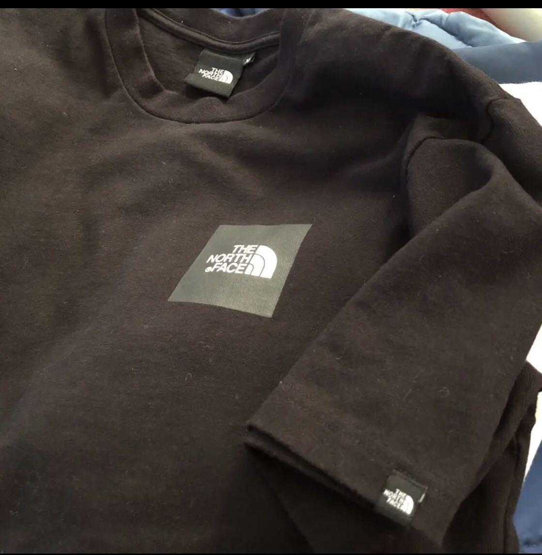 ノースフェイス ボックスロゴ Tシャツ Mサイズ ブラック シュプリーム カットソー_画像3