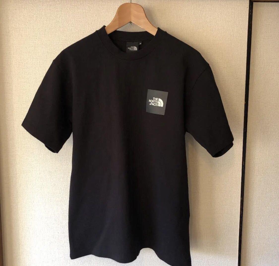 ノースフェイス ボックスロゴ Tシャツ Mサイズ ブラック シュプリーム カットソー