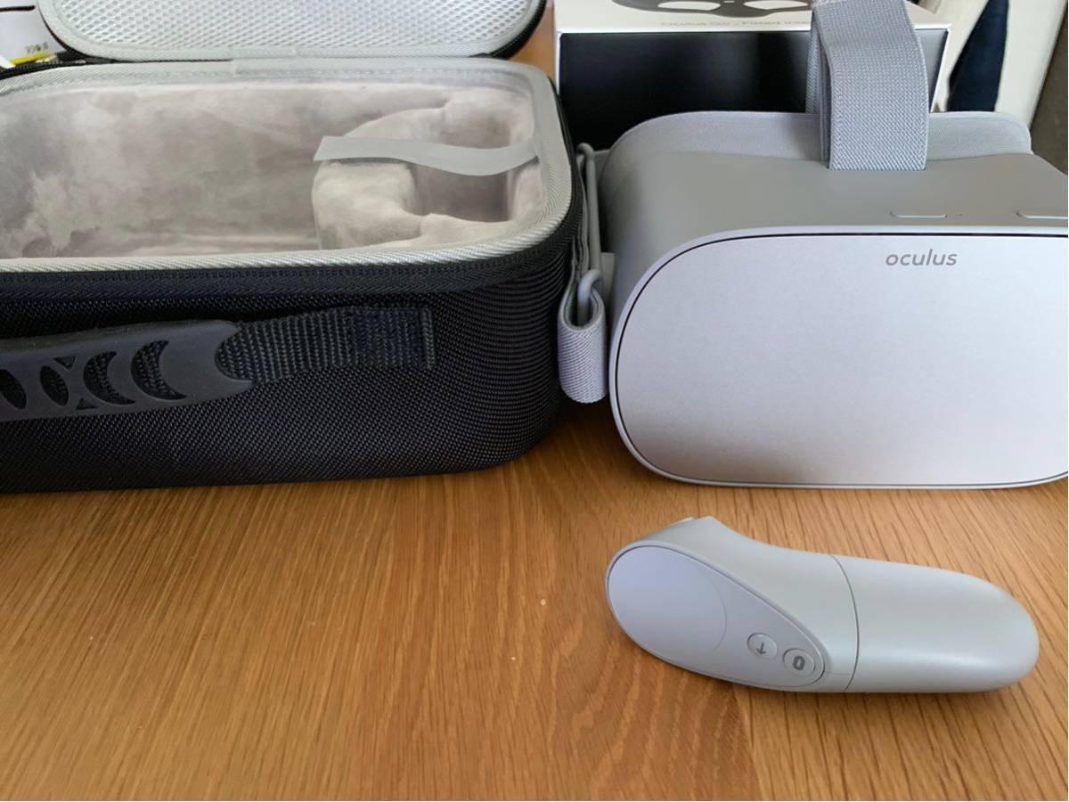 美品 oculus go 64GB + フィット型顔型パーツ + 専用ケース_画像2