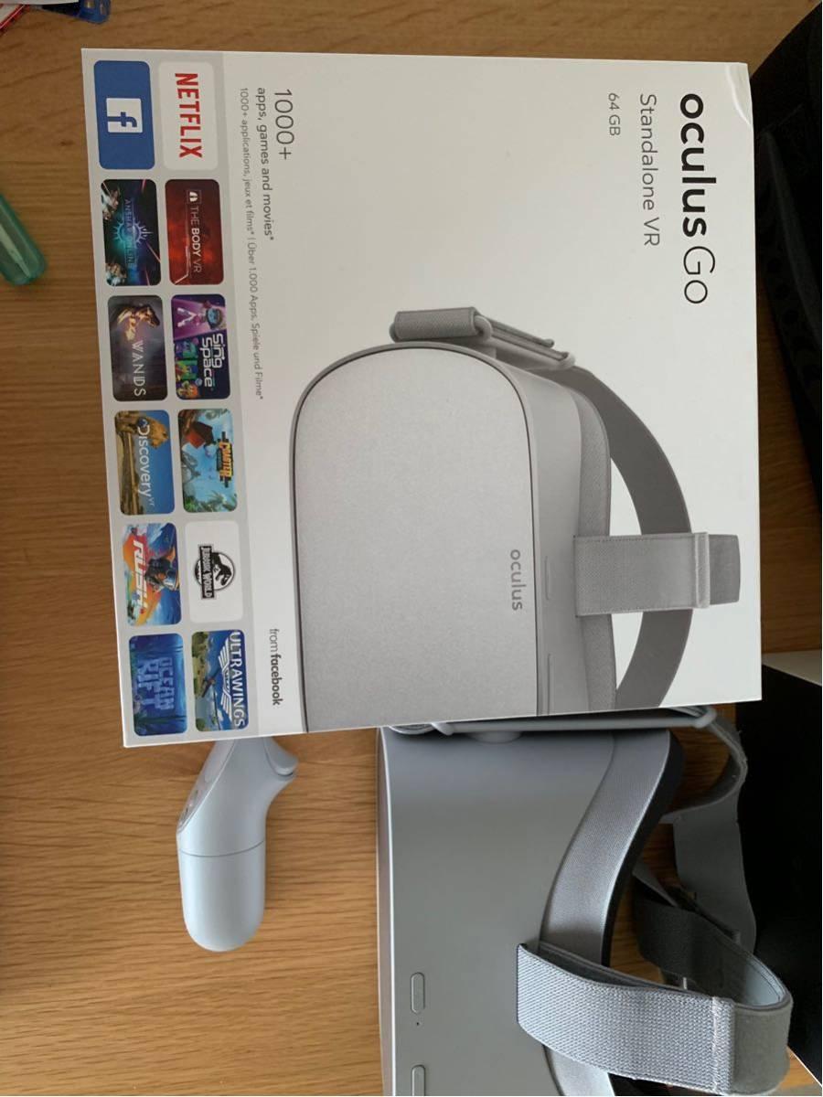 美品 oculus go 64GB + フィット型顔型パーツ + 専用ケース_画像3