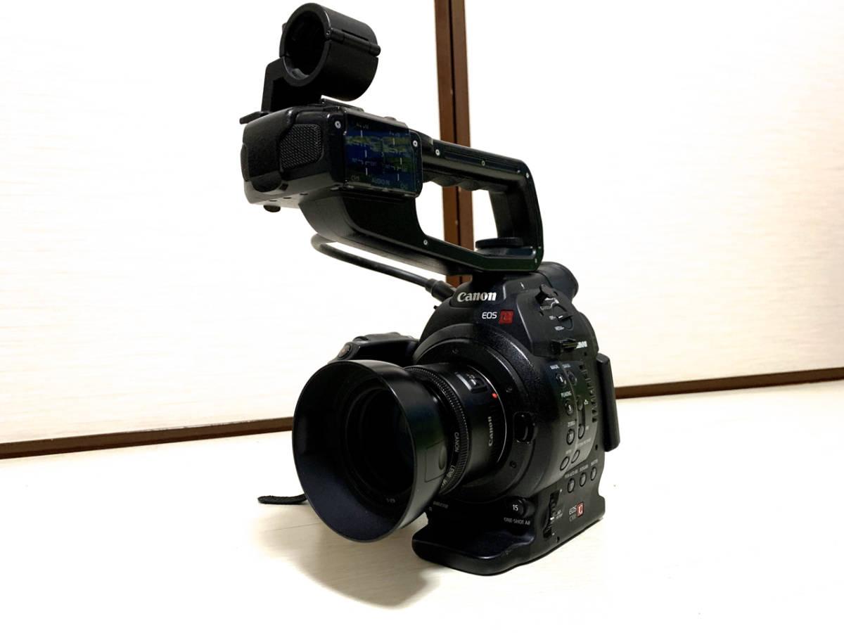 【レンズ付き】CANON EOS C100【中古完動】_画像2