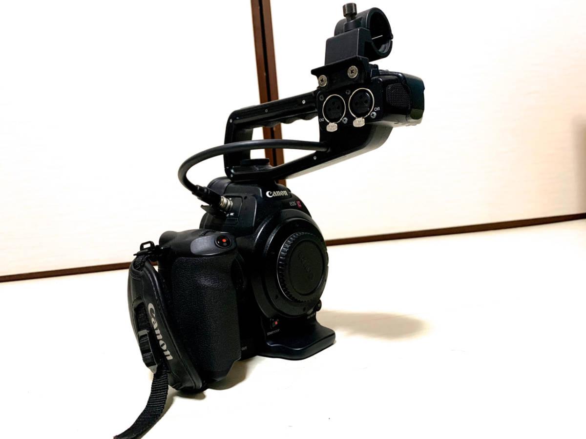 【レンズ付き】CANON EOS C100【中古完動】_画像6