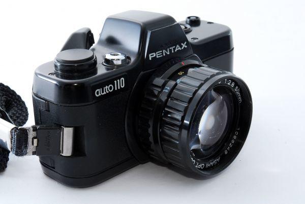 ★現状品★PENTAX ペンタックス AUTO オート 110 SUPER 50mm F1.8付き★K-0711_画像3