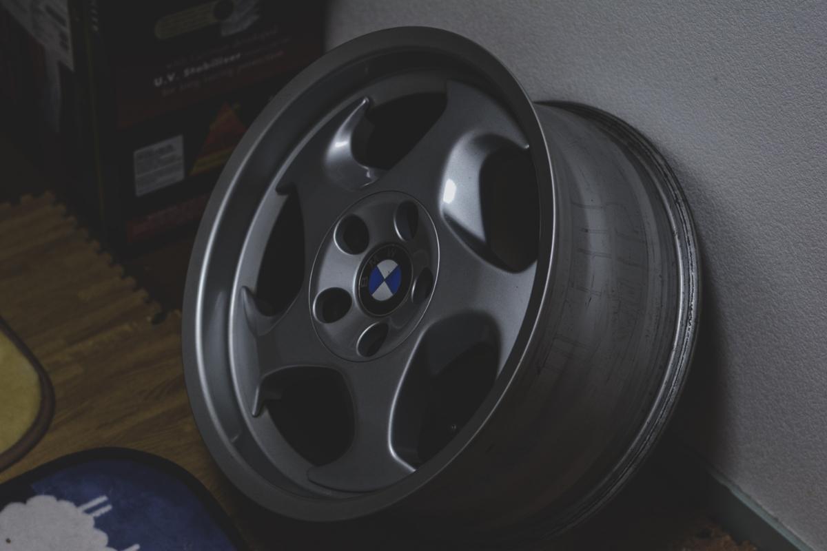 BMW E34 M5 Mテク 17インチ 4本セット ガリ傷なし 美品 Pcd120? 5H 当時物 E31