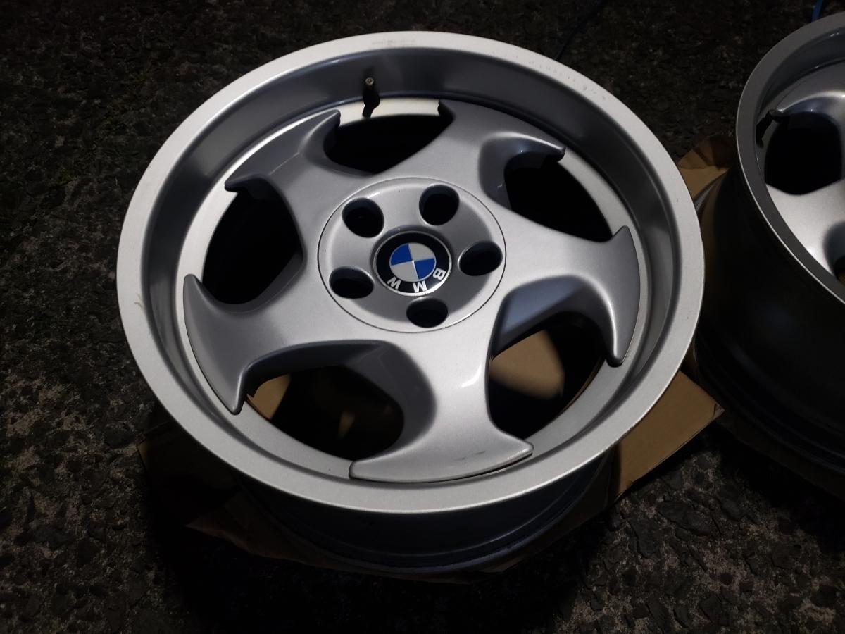 BMW E34 M5 Mテク 17インチ 4本セット ガリ傷なし 美品 Pcd120? 5H 当時物 E31 _画像6