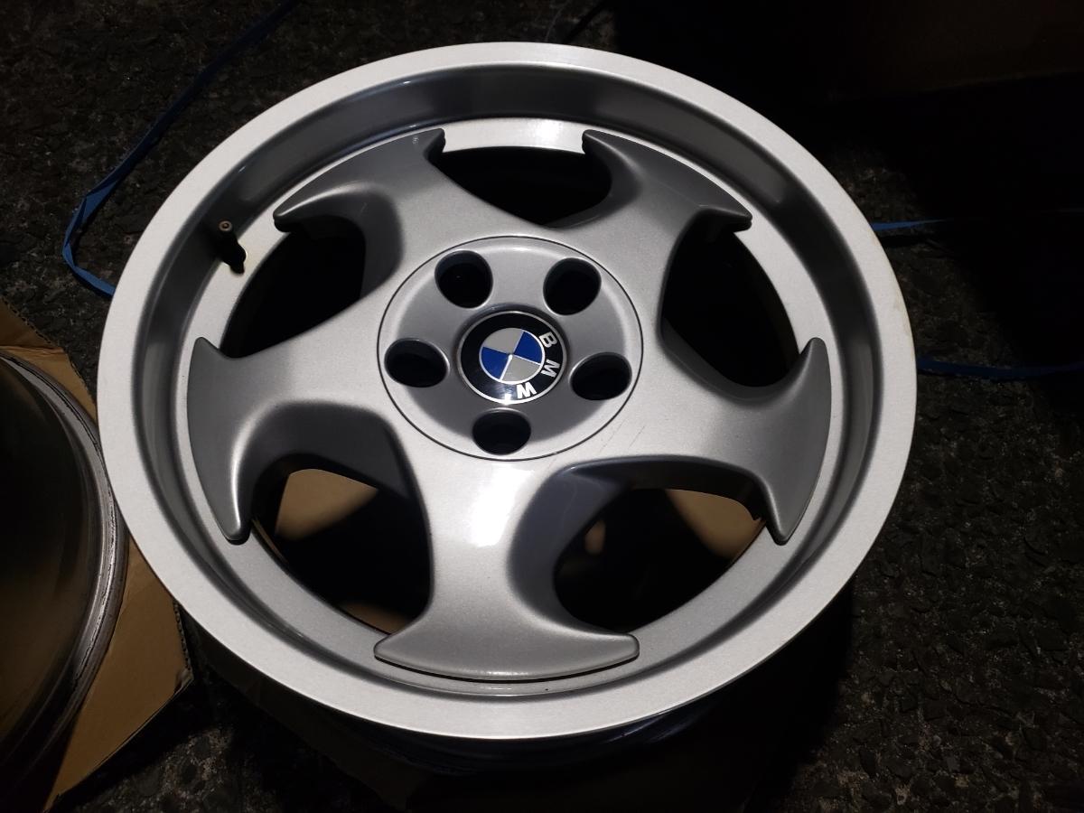 BMW E34 M5 Mテク 17インチ 4本セット ガリ傷なし 美品 Pcd120? 5H 当時物 E31 _画像8