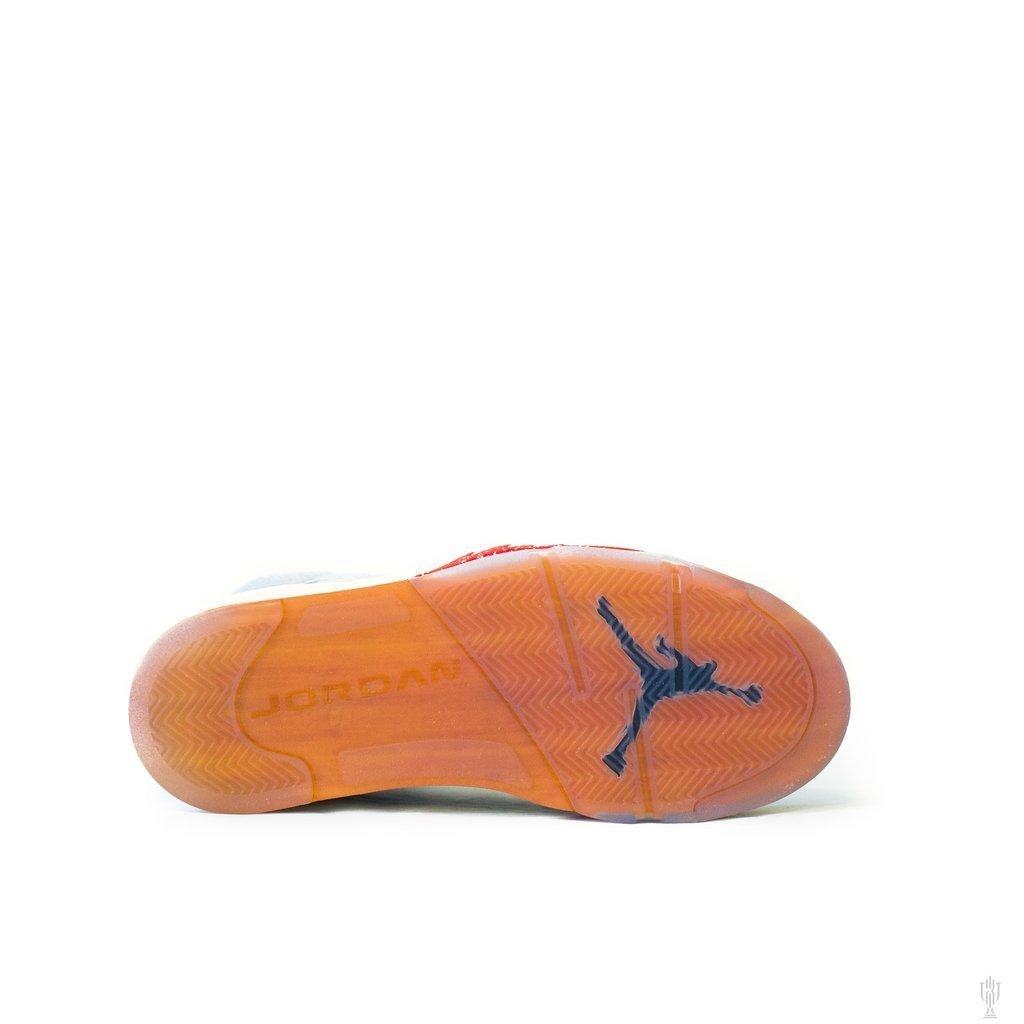 【超希少・26cm 】世界7000足限定 TROPHY ROOM × Air Jordan 5 Retro (ICE BLUE) トロフィールーム エアージョーダン 5 アイスブルー_画像7