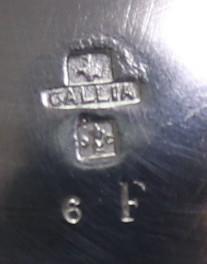 アンティーク 「Christofle」 クリストフル 木製把手 大型ポット 純銀P シルバープレート_画像9