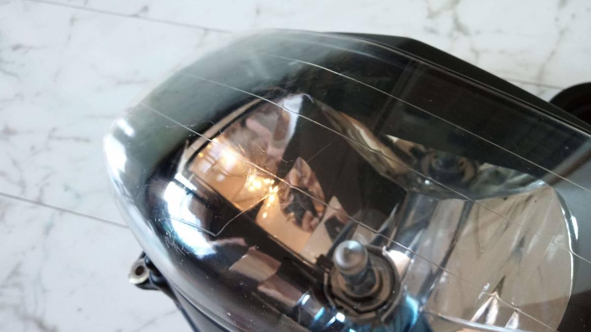 VTR1000F 純正ヘッドライト(ハロゲンバルブ・新品ゴムブーツ付き)_画像2