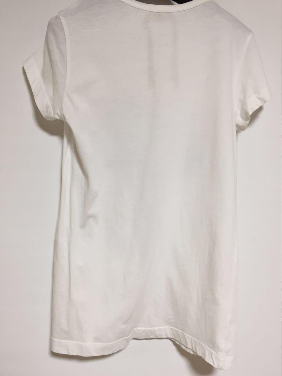 ヌメロヴェントゥーノ N°21 コットンロゴTシャツ 36 _画像5