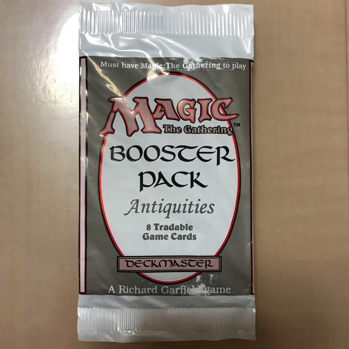 【 値下げ 未開封 1パックのみ 】 アンティキティー ブースターパック Antiquities MTG 一部印刷かすれあり 破け無し