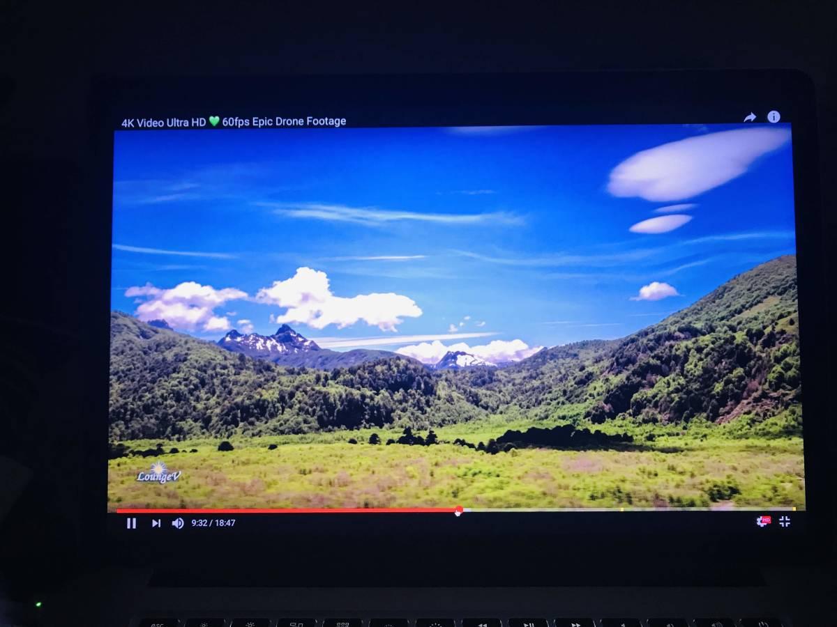 中古 Macbook Pro Retina 15インチ Mid 2012 Early 2013 A1398 液晶 画面 上半部 上半身 LCD スクリーン ディスプレイ パネル ★送料無料_画像3